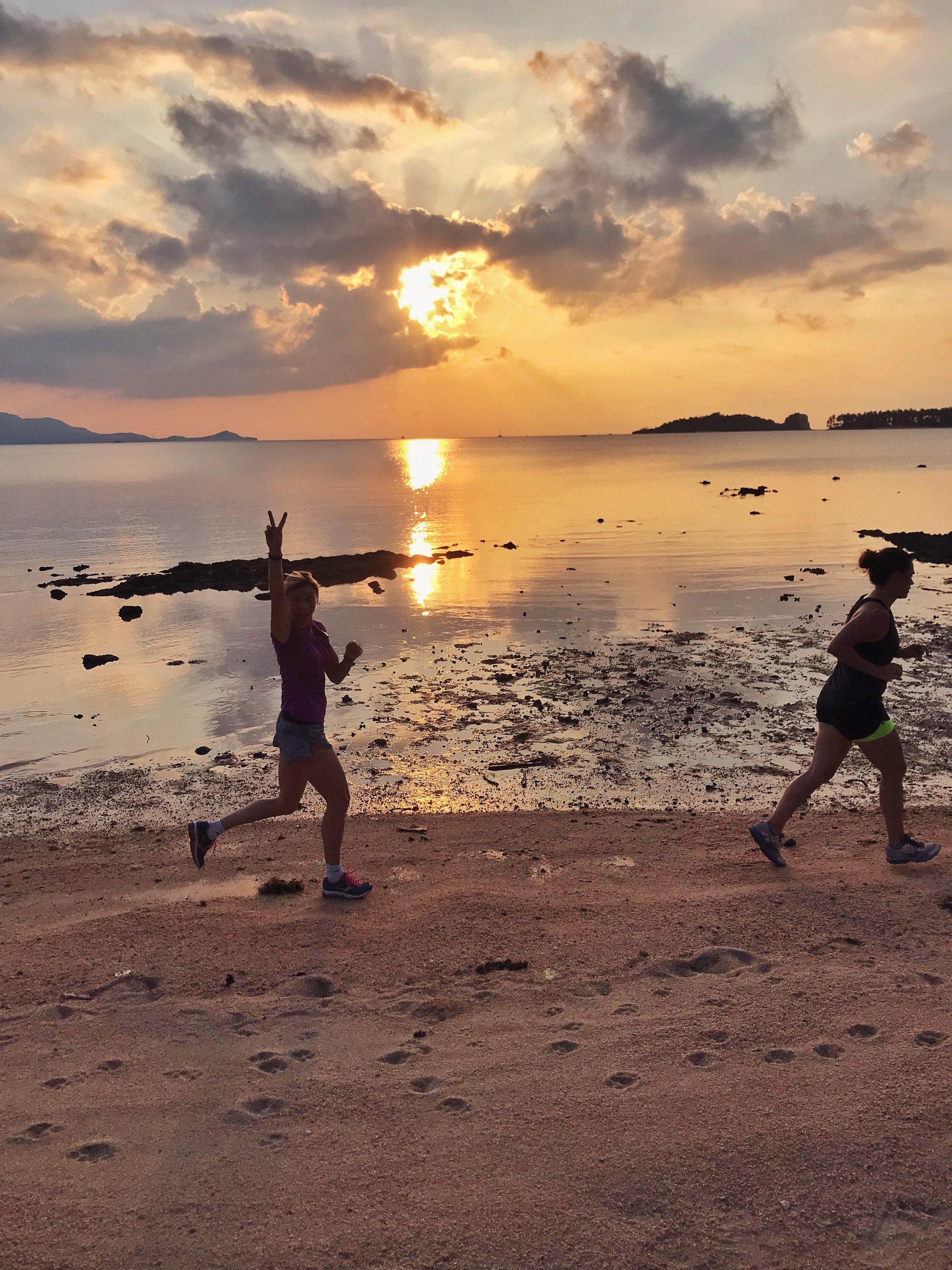 Yoga & Running -