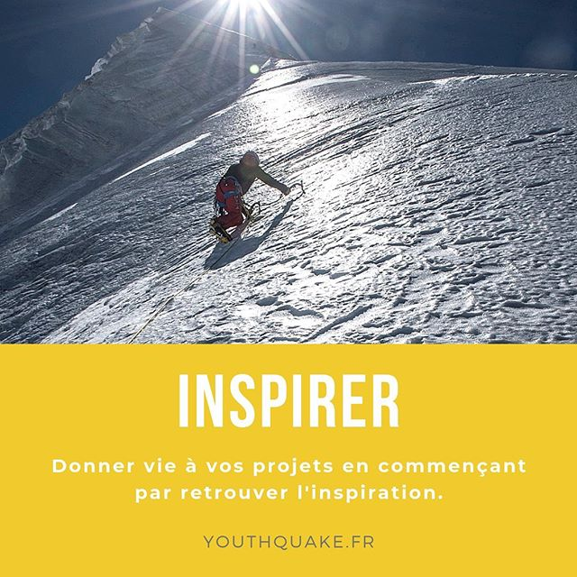 Donner vie à vos projets en commençant par retrouver l'inspiration !  #youthquake #conférence #inspirer #taharmanaï #accompagnement