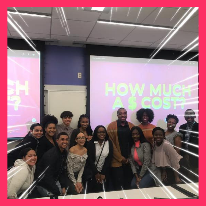 A Meet-Up at SUNY Albany with amazing students. For Financial Literacy Month we held a workshop on managing money as students.