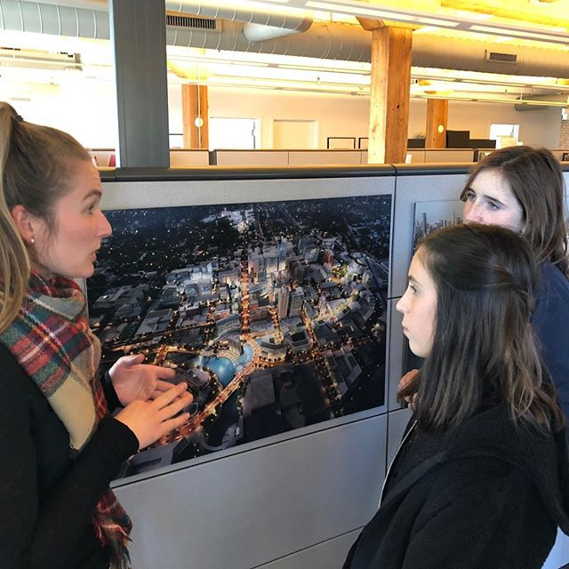 Last Wednesday our Chicago A&D rep had two students with her from @catherinecookschool for internship day! The girls got to meet with three A&D firms. @thegettysgroup @perkinswill_chi @perkinseastman.chicago  thank you so much for your generous time and insight! #intern #day #thereplife #contractfurniture #interiordesign #firms #tbt