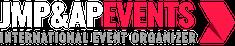 JMP & AP Events White Logo - Footer Logo