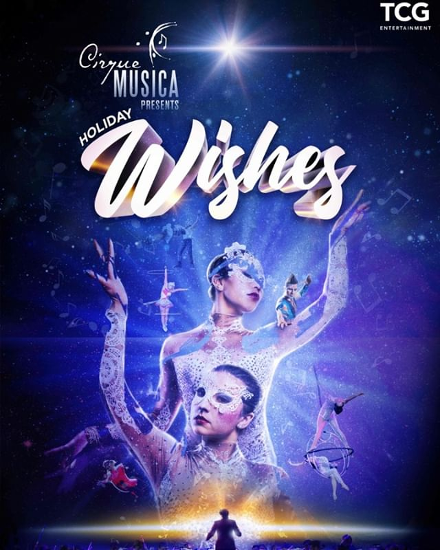 Cirque Musica presents Holiday Wishes is on-sale NOW! Find tickets available at select venues. Find a show near you to come experience a full theatrical holiday event for the entire family! Check 🔗 in bio for tickets!✨❄️🎫 #CirqueMusica #Wishes #tcgentertainment