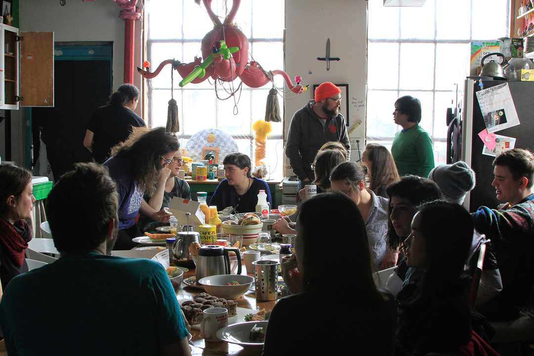 Breakfast Club at Flux Factory