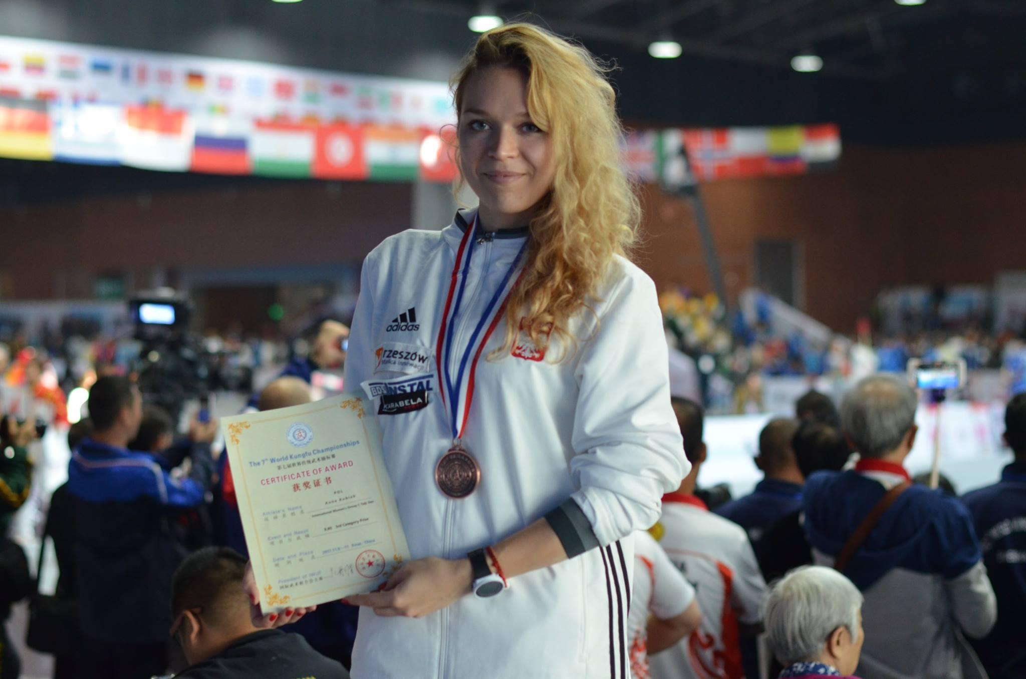 3-cia grupa medalowa podczas 7 Mistrzostw Świata Kung Fu (2018)