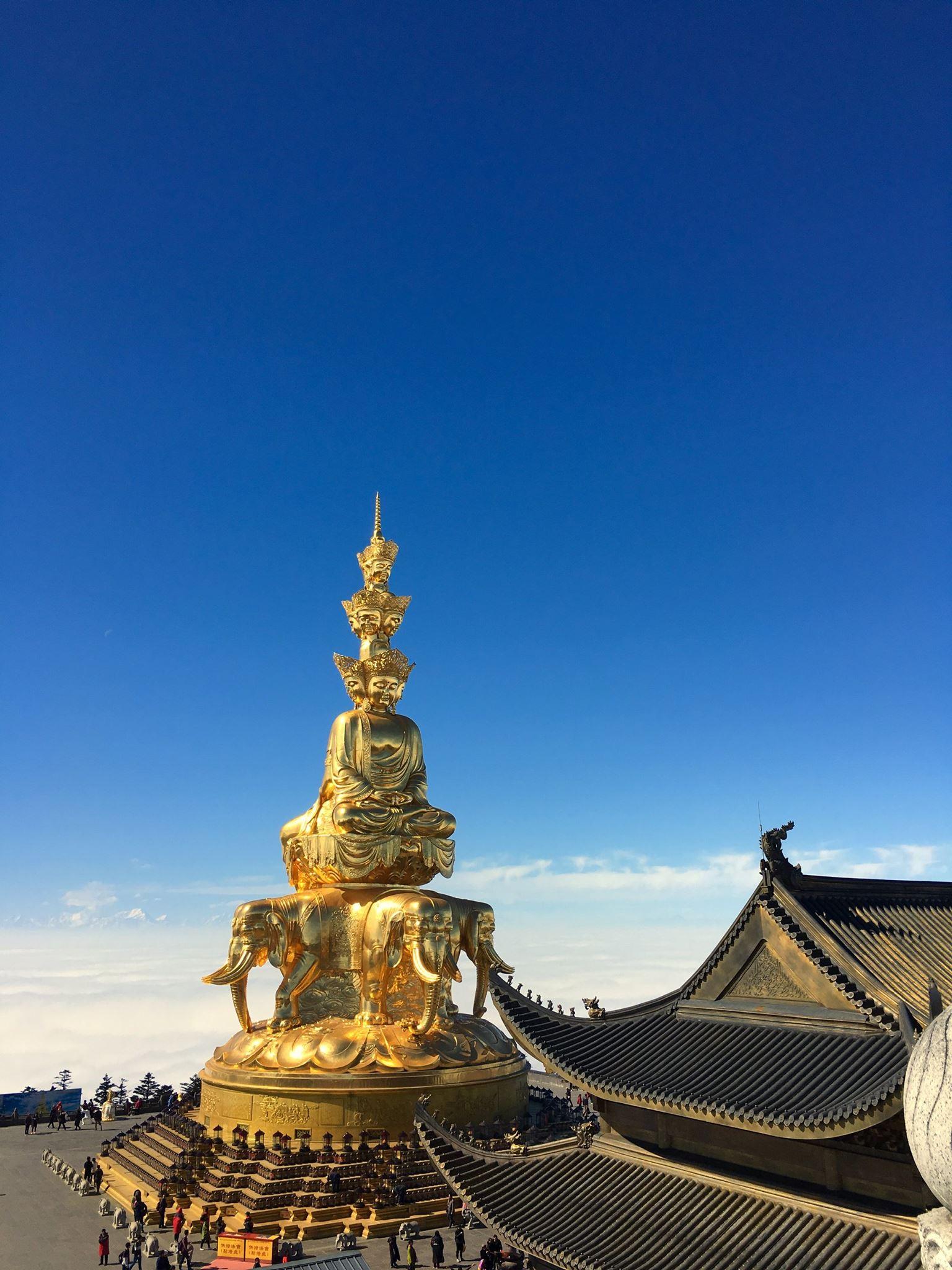 Świątynia na Górze Emei, Chiny