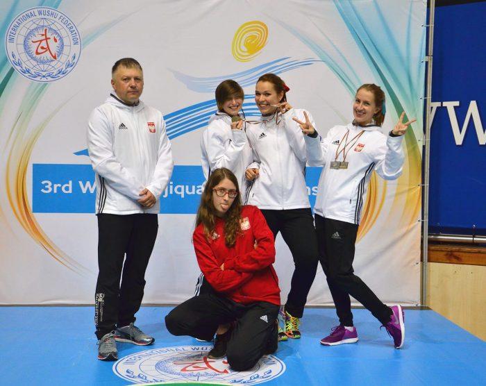 Kadra Polski Taijiquan na 3. Mistrzostwa Świata Taijiquan!