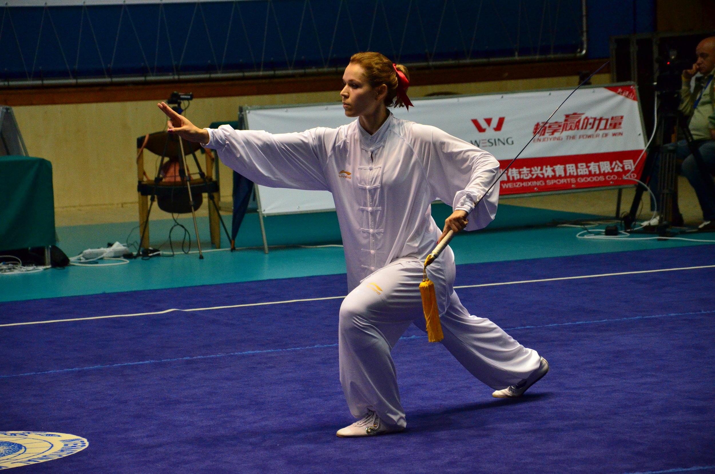 Anna Kubiak, forma standaryzowana Yang Taijijian