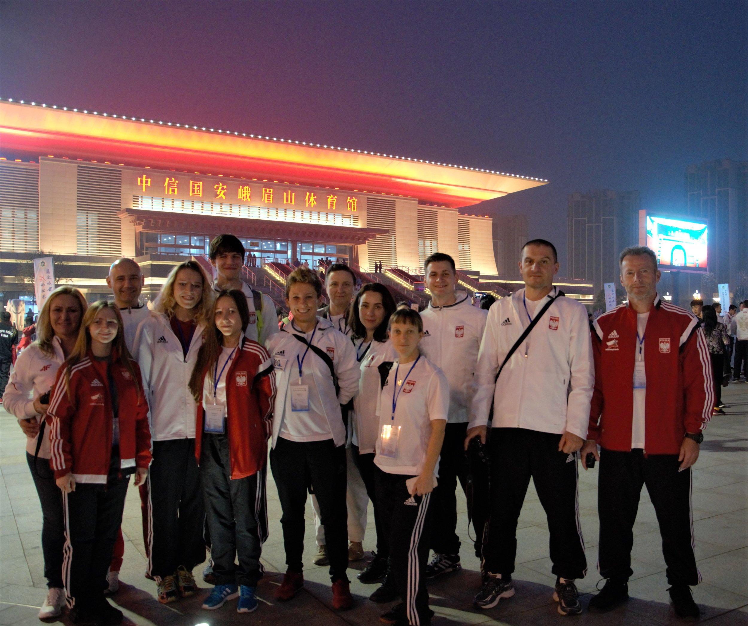 Reprezentacja Polski przed Ceremonią Otwarcia
