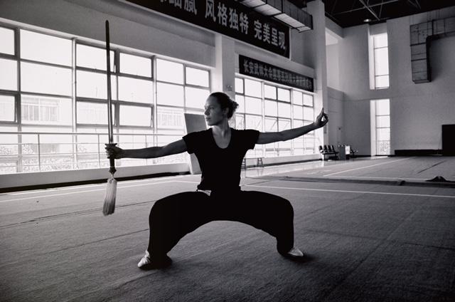 Trening z mieczem