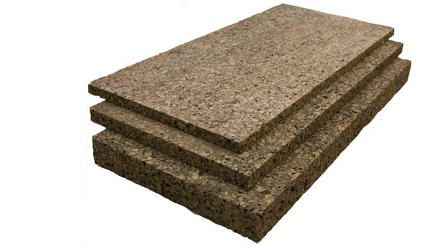 Semi Rigid Expanded Insulation Cork Board