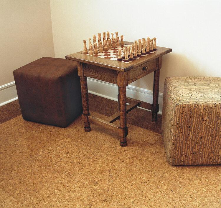 Upholstery grade cork fabric.