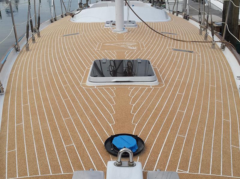 Jelinek Cork AquaCork Boat Decking