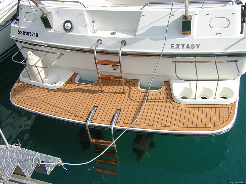 Jelinek Cork AquaCork Marine Decking