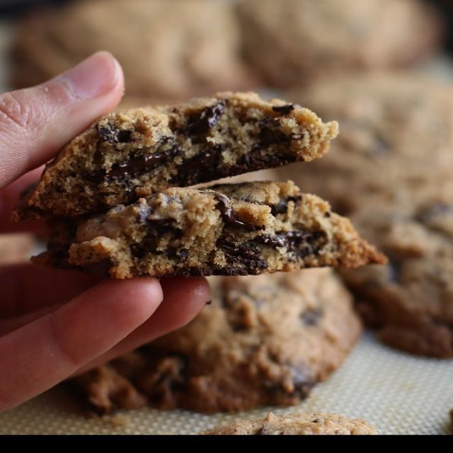 These salted chocolate chip cookies.... damn. They are gluten free and so delicious. I'm going to be revamping my website in next month so go and take what recipes you want before they disappear. Alextcooks.com and search chocolate chip cookies.