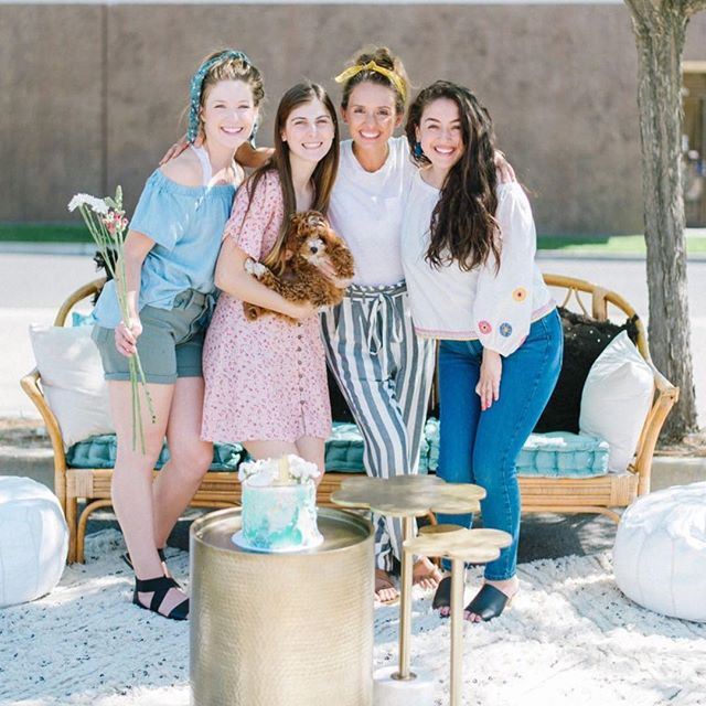 We are soooo excited that @letspartyprettier is creating an amazing lounge for #theoldtownfleamarket! Go hang out and even enter for a chance to win a wedding lounge.#oldtownclovis #bestweekendever #comeshopwithus