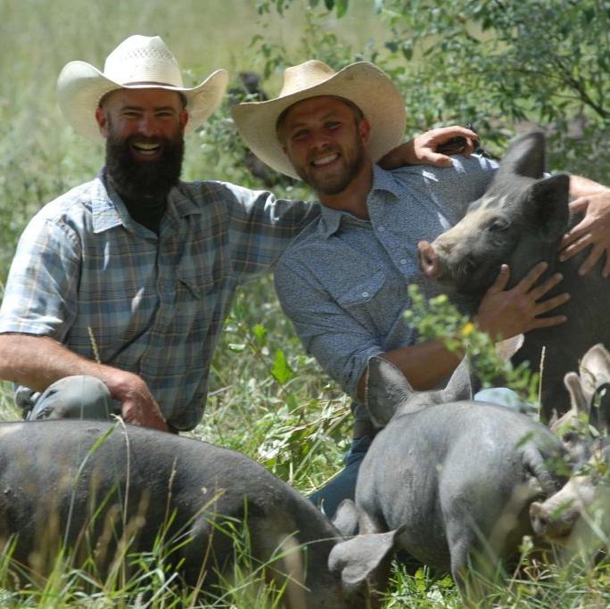 Ranchers at Colorado Pasture Raised Pork