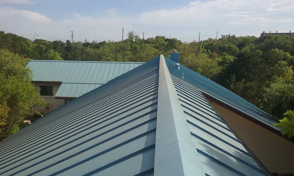Metal  - Metal Roofs are a strong match for extreme weather, are energy efficient and are virtually 100% recyclable.