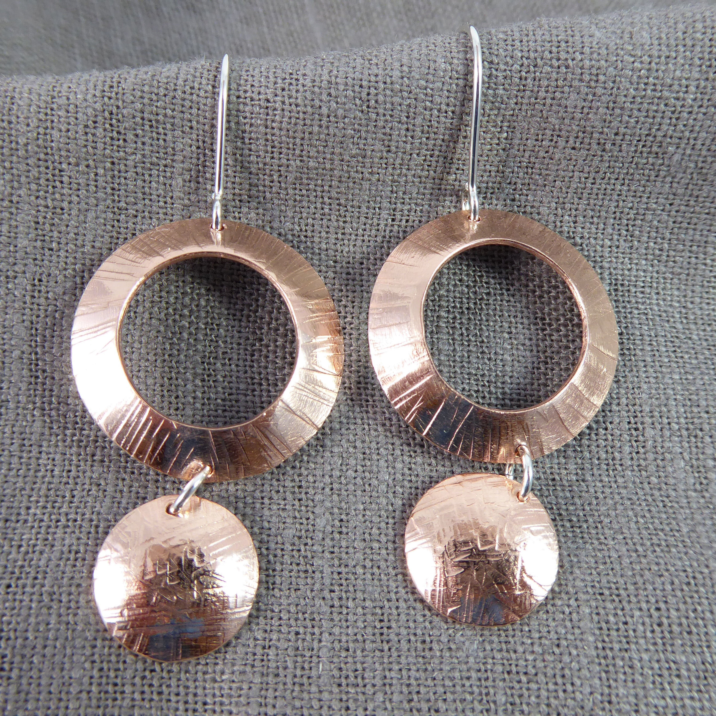 Copper Hoops and Rounds
