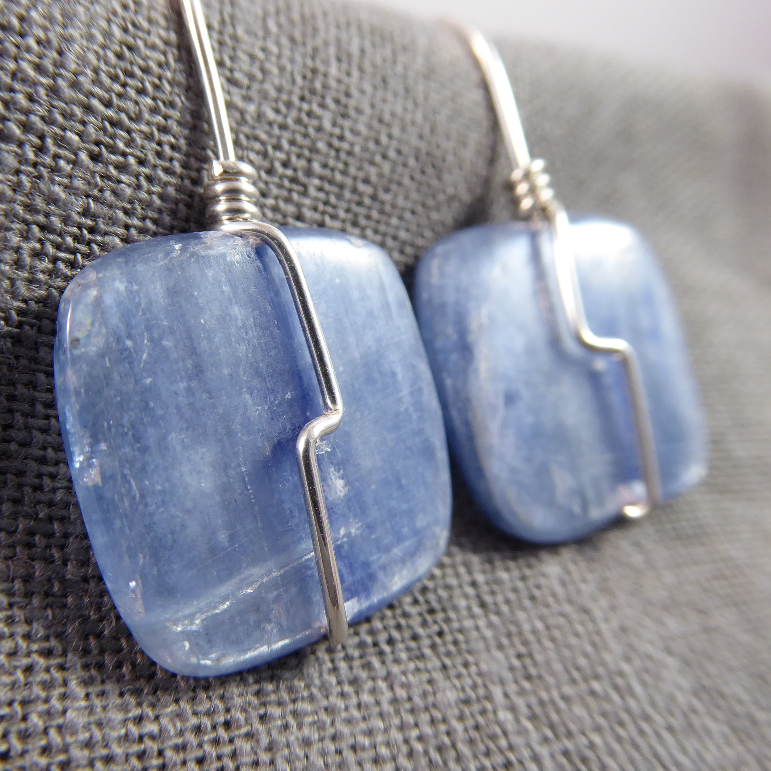 Kyanite and Sterling Silver