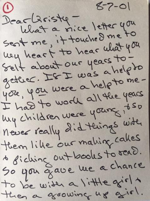 Letter from Ferguson p 1