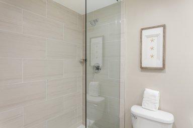 King Suite Bathroom shower