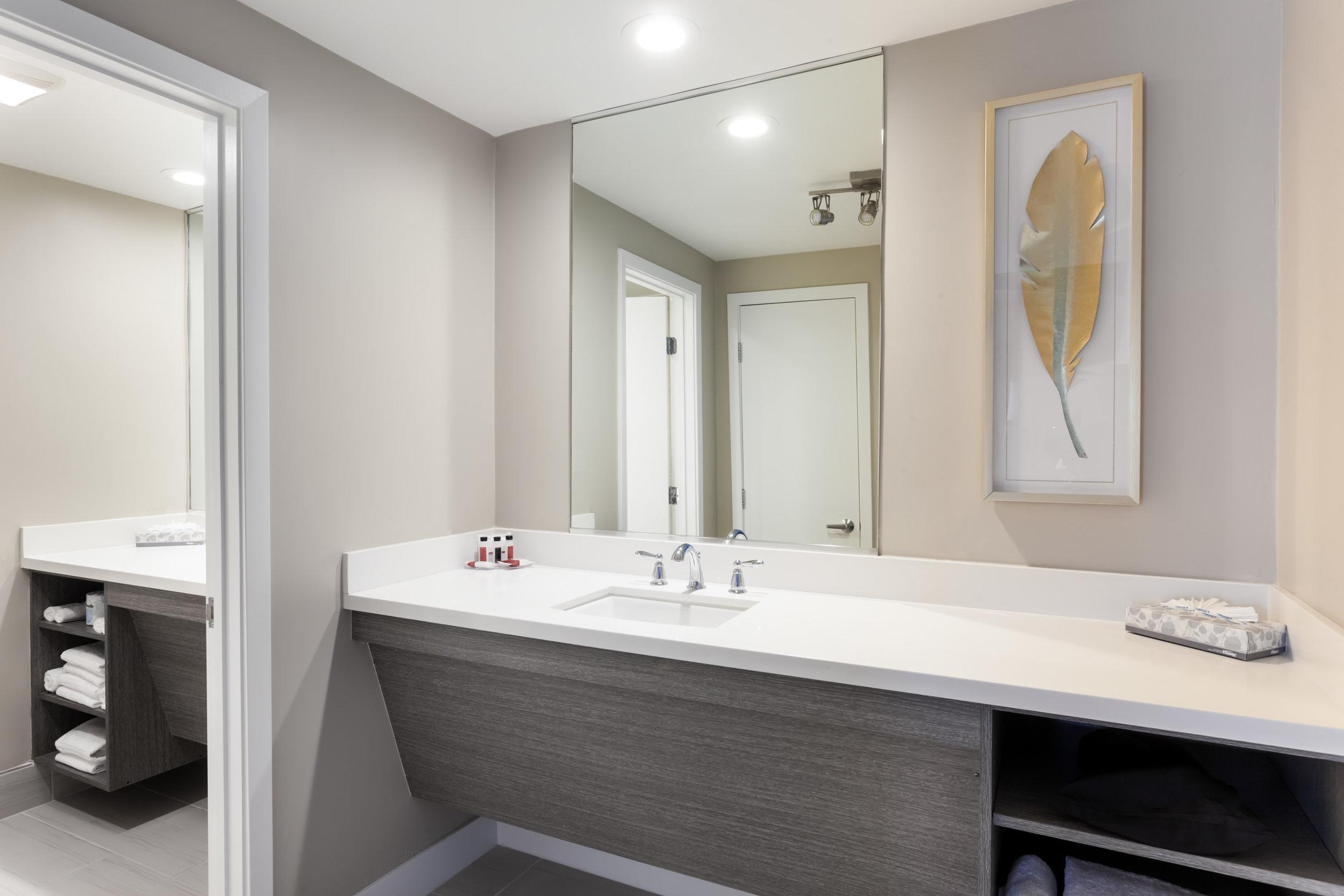 King Suite Bathroom counter