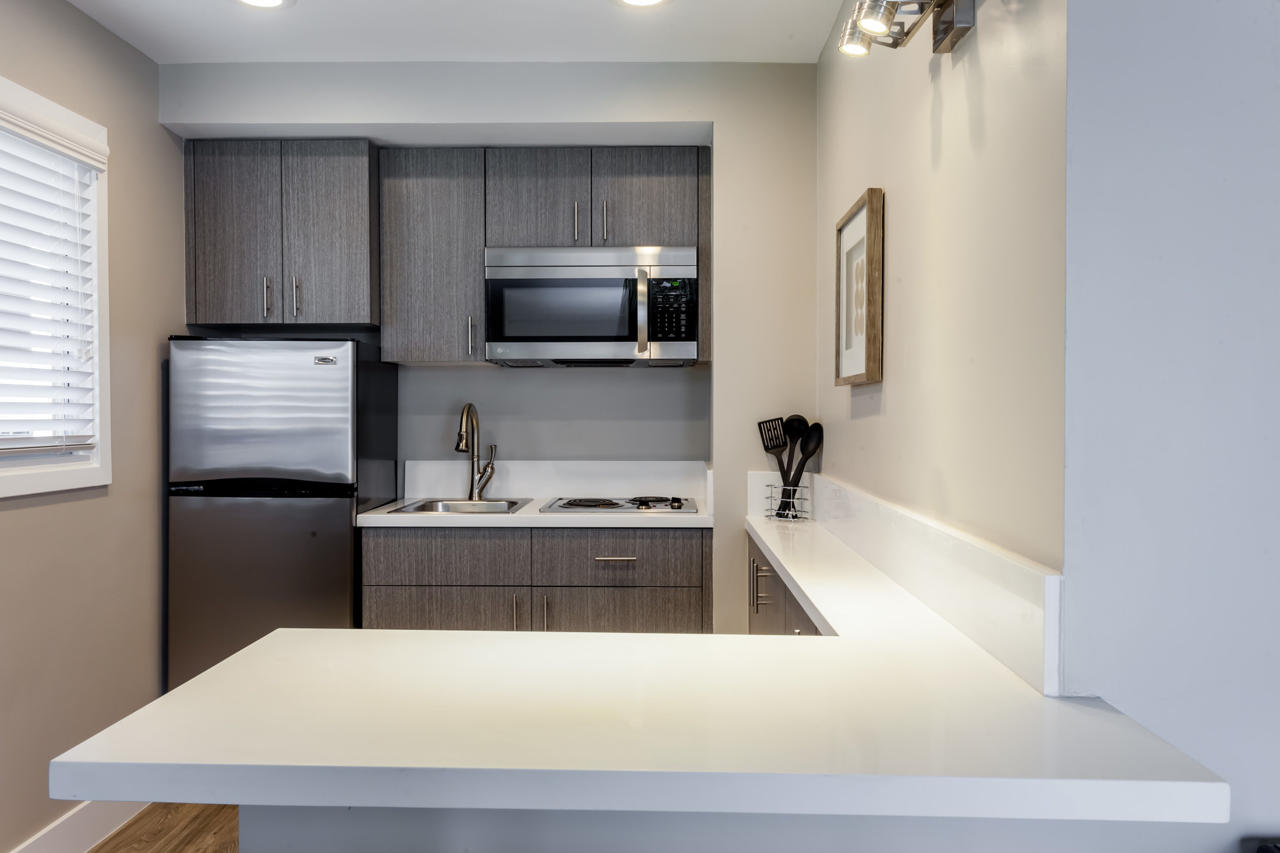 King Suite Kitchen counter