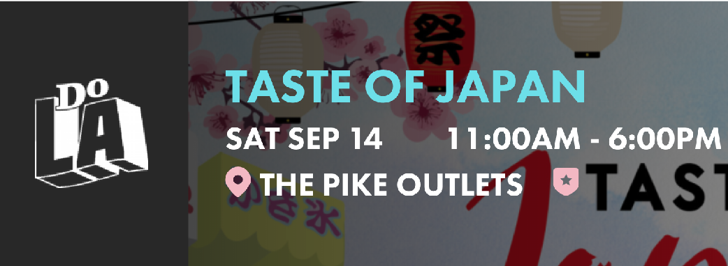 TASTE OF JAPAN - Enjoy various Japanese culinary creations, experience Japanese pop culture, entertainment, activities, shopping and family fun! VIP ticketholders will also have the opportunity to taste an extensive selection of Japanese beer and sake, for a unique and unforgettable experience.