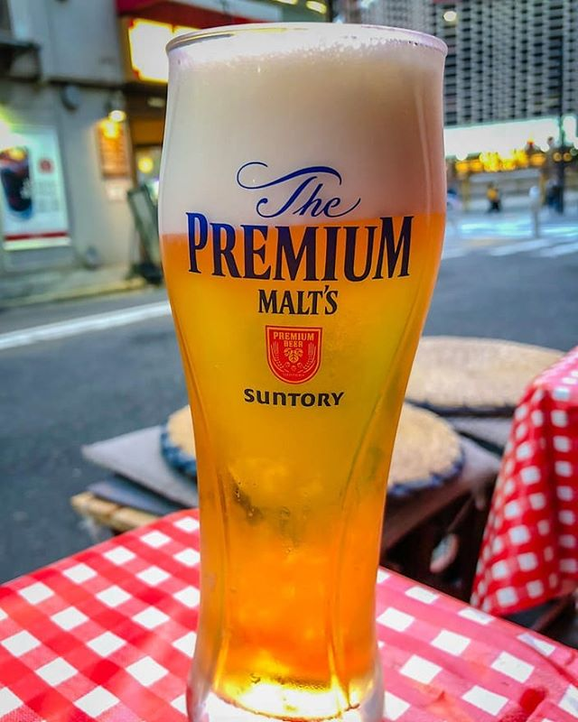 "Also known as the ""beerpuccino,"" The Premium Malts has a satisfyingly full body and a refreshing texture, topped artfully with foam. Get your glass at Taste of Japan!"