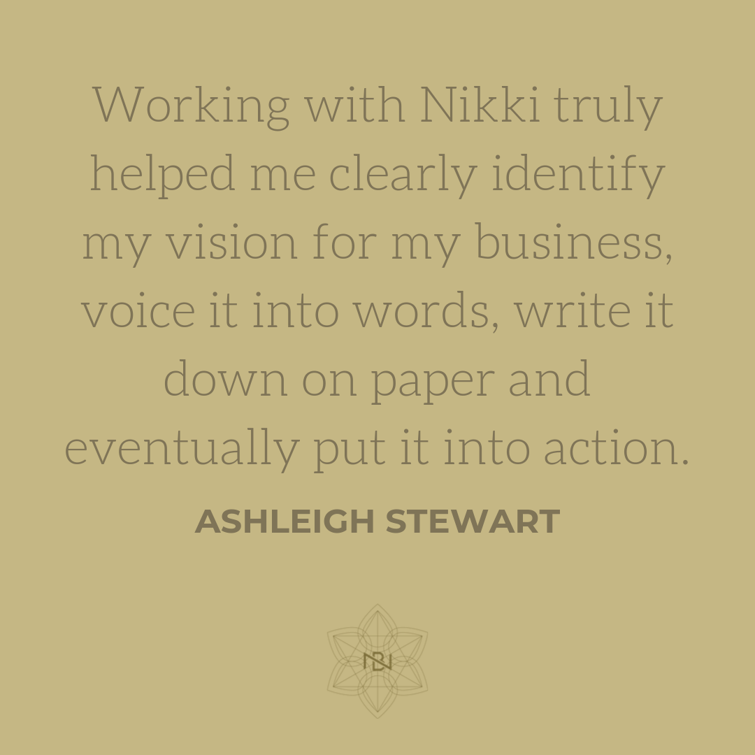 -Ashleigh Stewart, Owner,  The Wellness Refinery