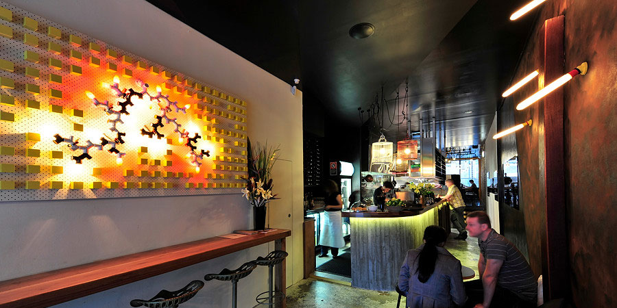 Bloodwood Restaurant & Bar - Killing Matt Woods - Interior Design - Hospitality