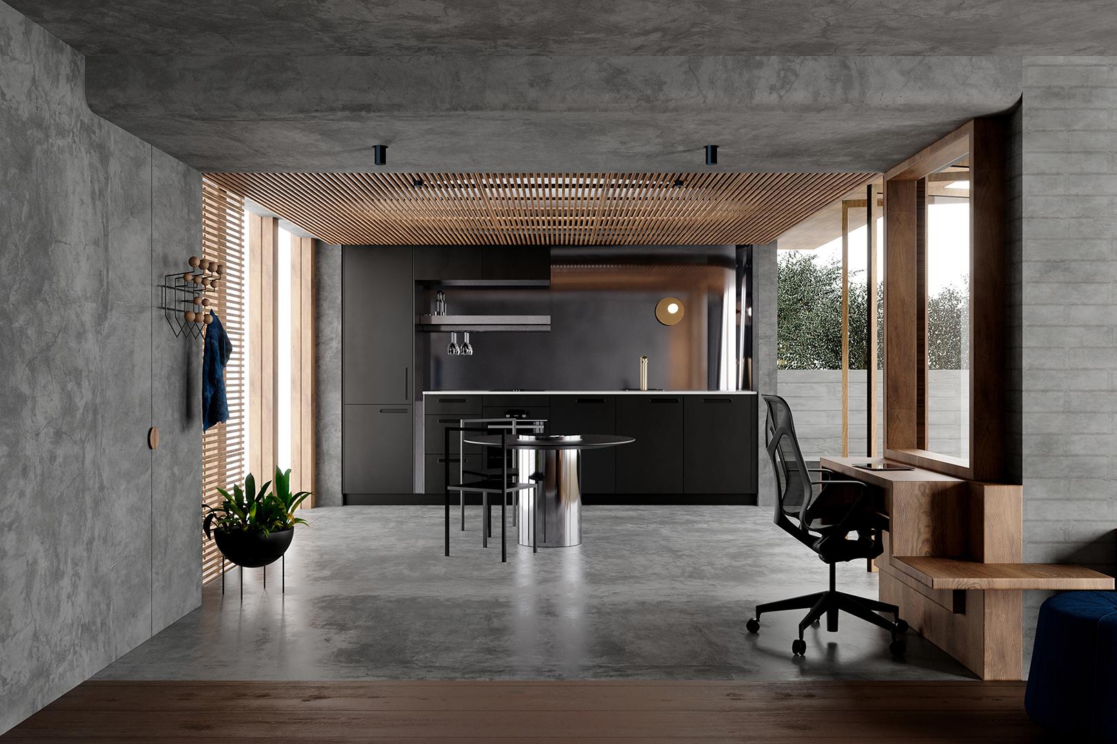 Eye in the Sky Apartment - Killing Matt Woods - Interior Design - Residential Design