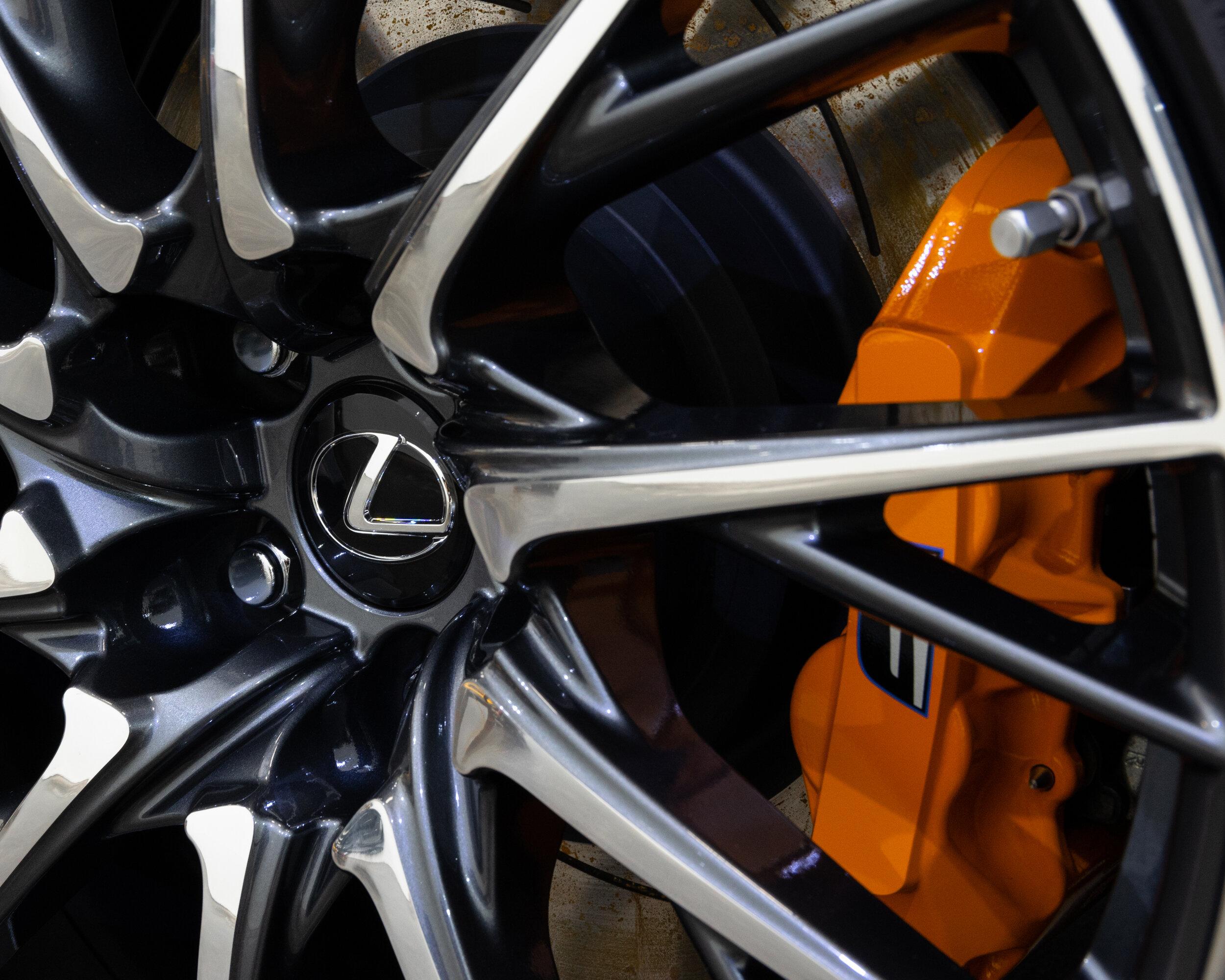 Lexus RCF Wheel