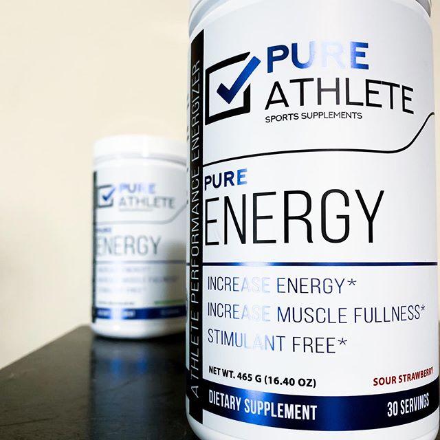 Purest energy on the market ✅ #PureAthlete