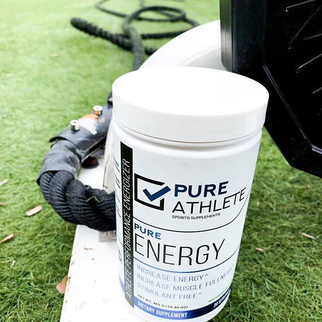 Fuel your inner athlete 💪🏼 #PureAthlete