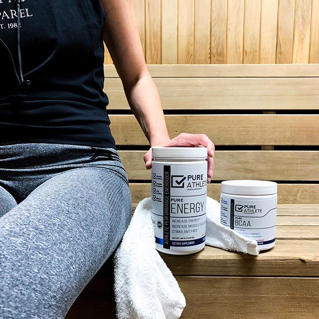 Energize and sweat it out 💧 #PureAthlete