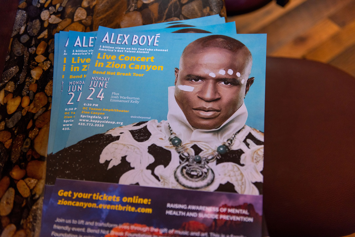 Soulegria Leadership Ranch Alex Boyé Bend Not Break Tour