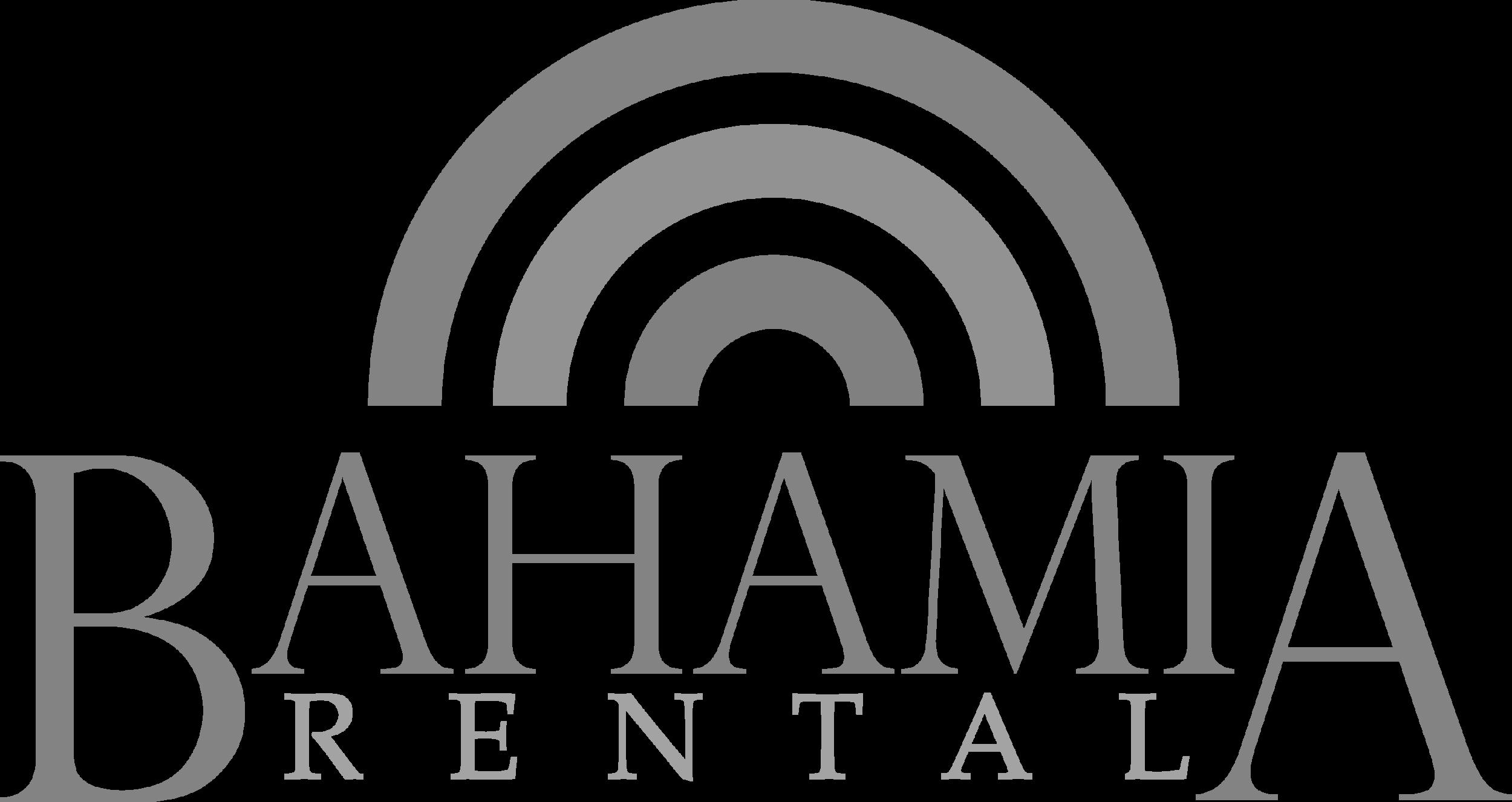 bahamia rental logo - B&W.png