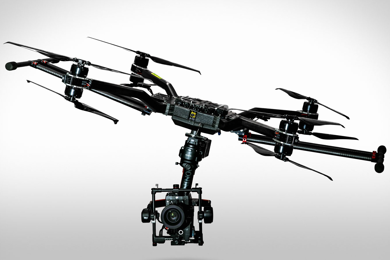 ultra x8 - The equipment you always wanted to fly can now be lifted.
