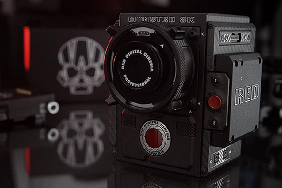 red - we film with red cameras