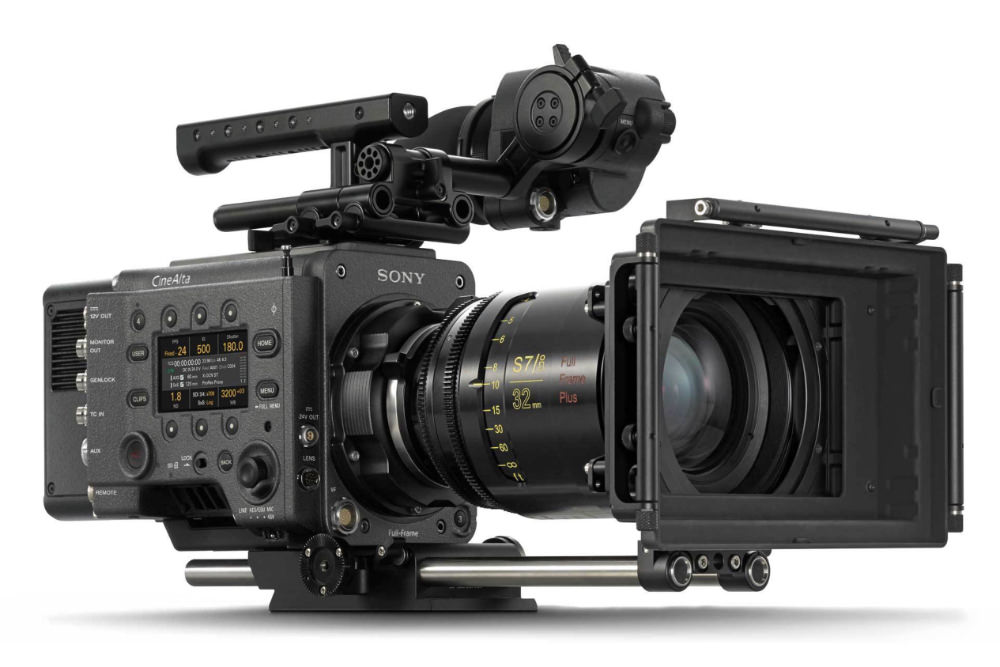 Sony Venice - A large format camera that can be lifted by the Ultra.