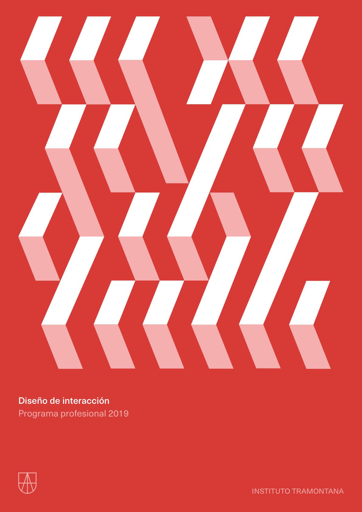 Programa profesional en     Diseño de interacción (pdf)