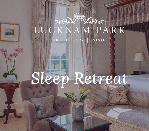 Sleep retreat - 18th-20th Jan 2020With Hypnotherapist Fiona Lamb at Lucknam Park