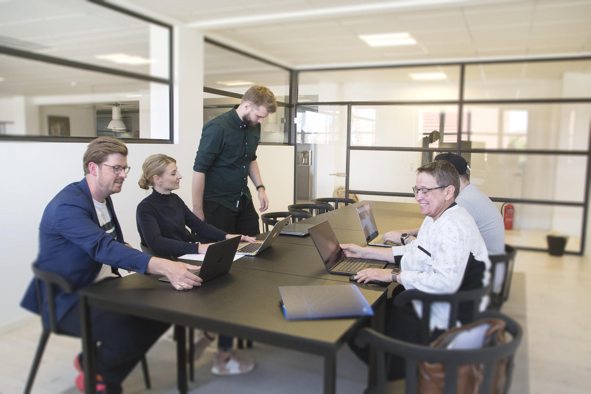 holdet - Læs mere om, hvem vi er, og hvad vi tror på, når organisationer og forretninger skal digitaliseres