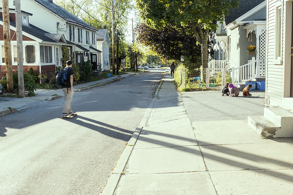 Suburban Vermont