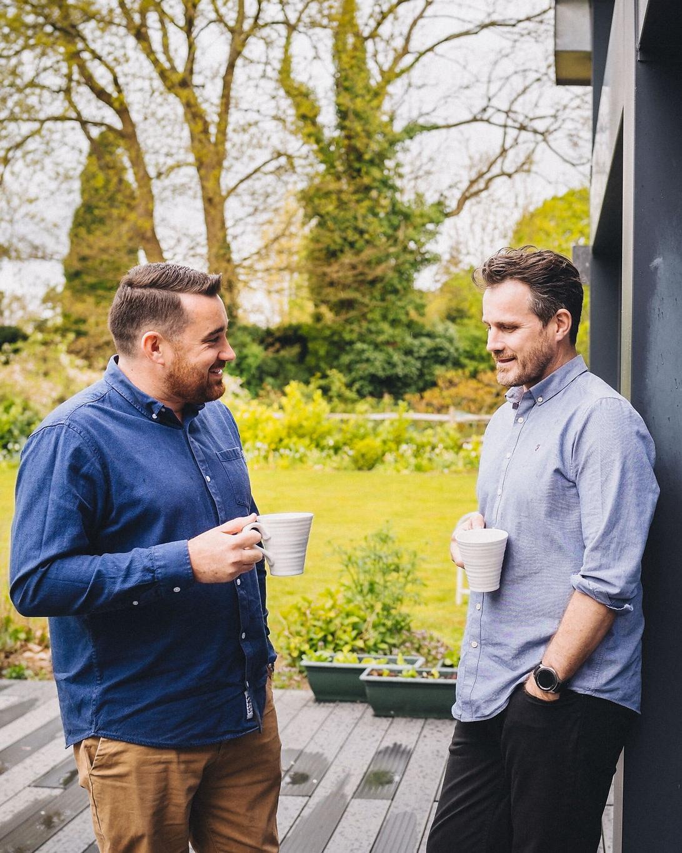 Neil and James Mercer, Mercers Timber Frame Consultancy   timber frame consultancy in East Sussex   Specialising in bespoke timber frames