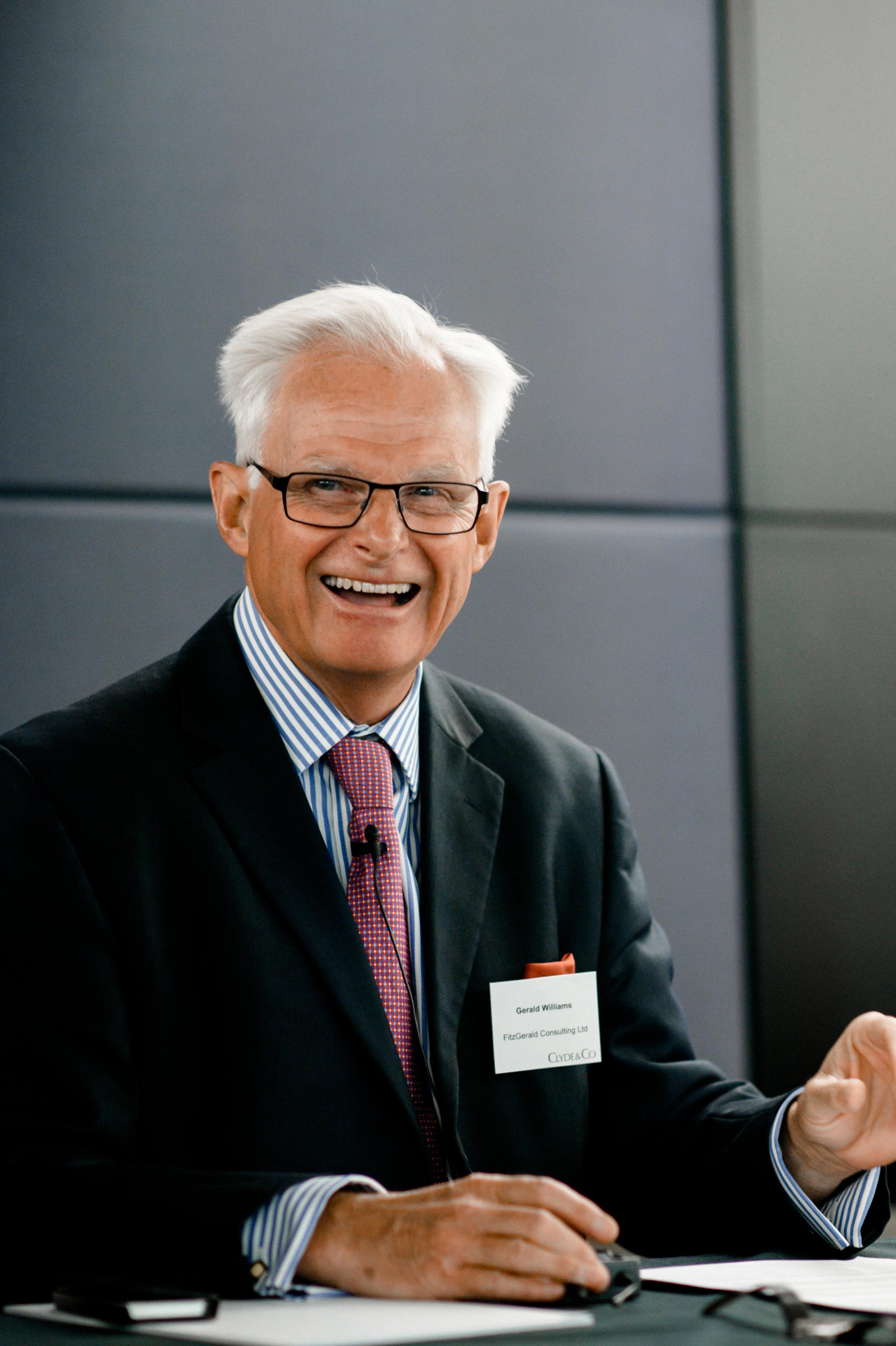 Gerald Williams FCA, FCILA, FUEDI, ELAE  Director (retired)