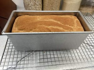 gluten-free yeast bread in KAF bread pan