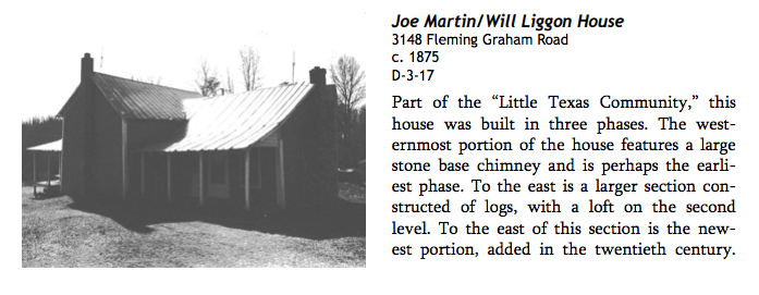 Generation 5:  Home of Joseph B. Martin;   The home of Joseph B. Martin, featured in the Alamance County Historic Properties Architectural Inventory (2014)