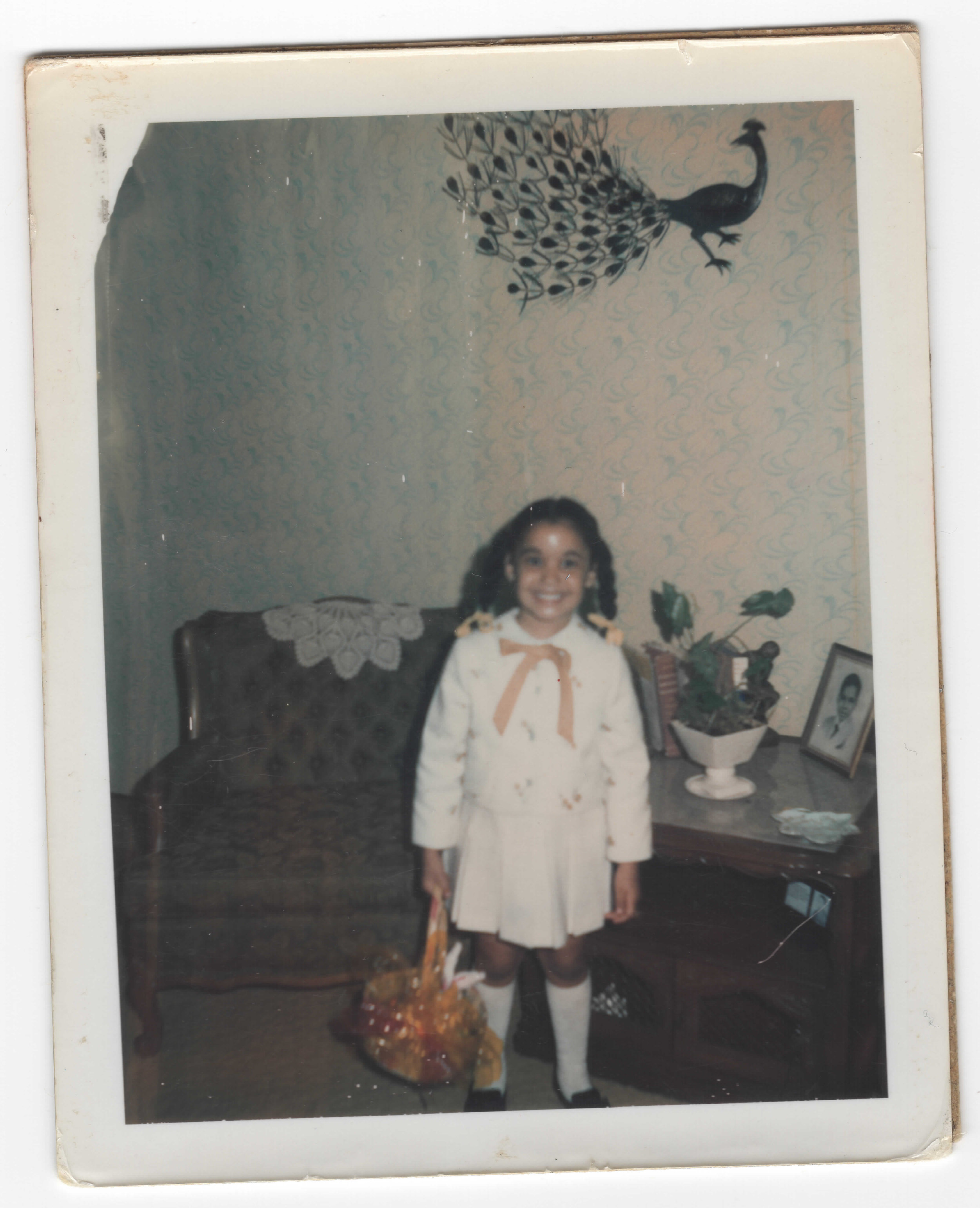 Generation 1:  From Whence I Came III    Childhood photograph of my mother, Veronica Stephanie (circa early 1970s)  7 x 5 in